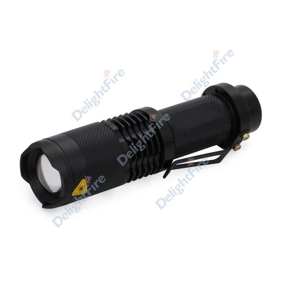 LED Torch 1200LM XM-L T6 LED Camp Flashlight Lamp Adjustable Focus Zoom 3 Modes Wholesale