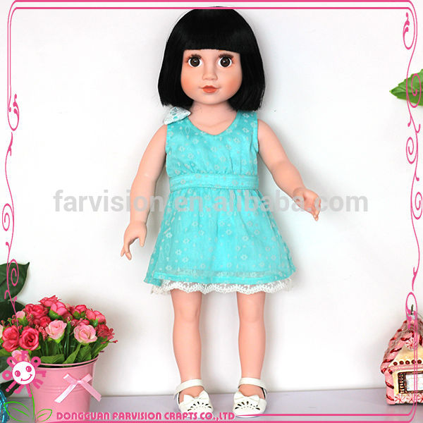 Newcome fashion baby doll 18 inch doll that everybody like
