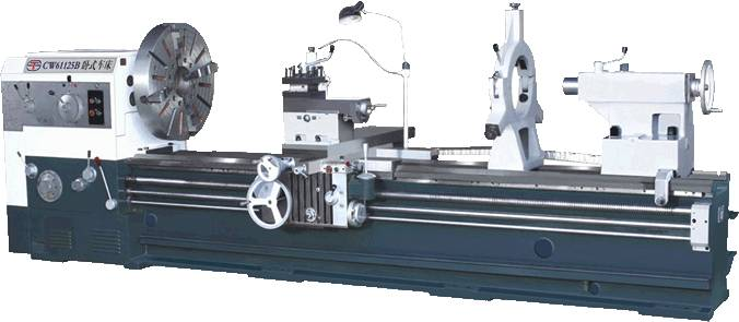 Metal Turning Conventional Heavy Duty Lathe Machines Big Size