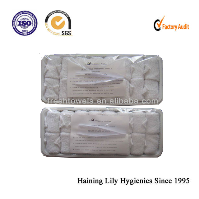 hot disposable towels airline towels cotton