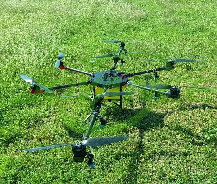 15L agriculture sprayer drones with GPS remote controlled