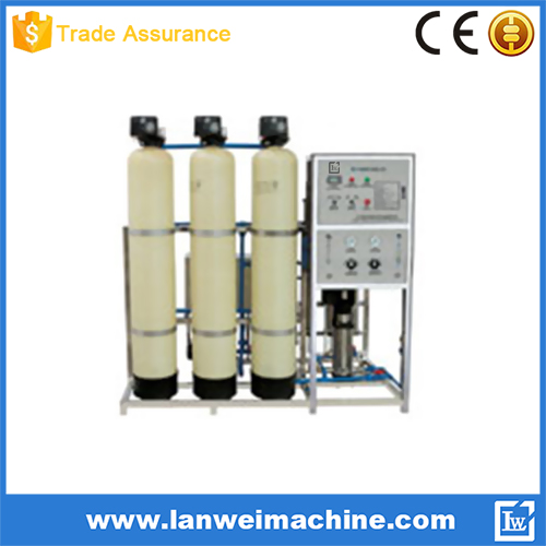 450L/H Hard Water / Brackish Water Treatment Machine with Reverse Osmosis Technology