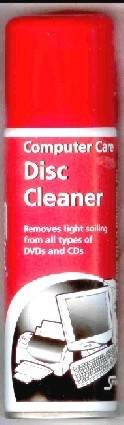 S812 COMPACT DISC CLEANER