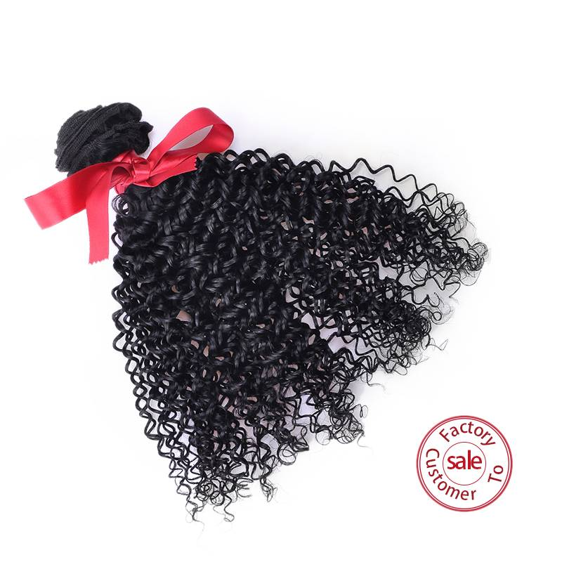 EV&ET Hot Sale Kinky Curly Natural Weaves, Virgin Malaysian Hair