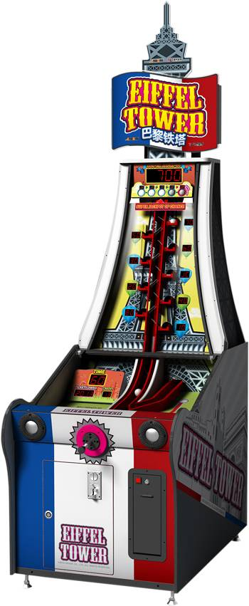 Eiffel Tower amusement machine ticket game lottery game