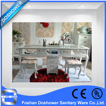 Doshower salon equipment with manicure table of nail salon furniture