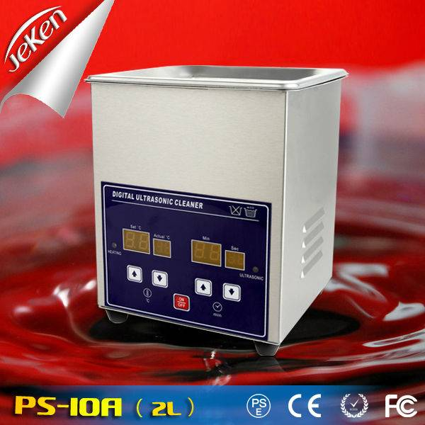 2l Best Used High Quality Portable Ultrasonic Jewelry Cleaner For Sale 70W (Jeken PS-10A)
