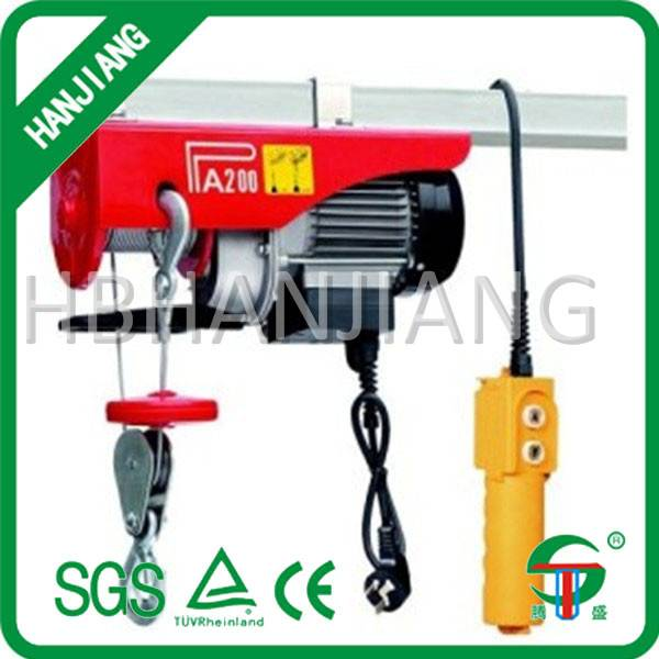 PA mini Electric Wire rope Hoists