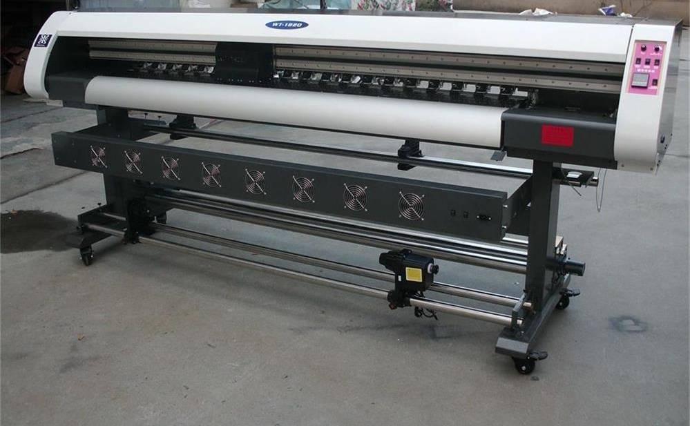 1.8m Large Format Printer Eco Solvent Vinyl Sticker Printer Machine