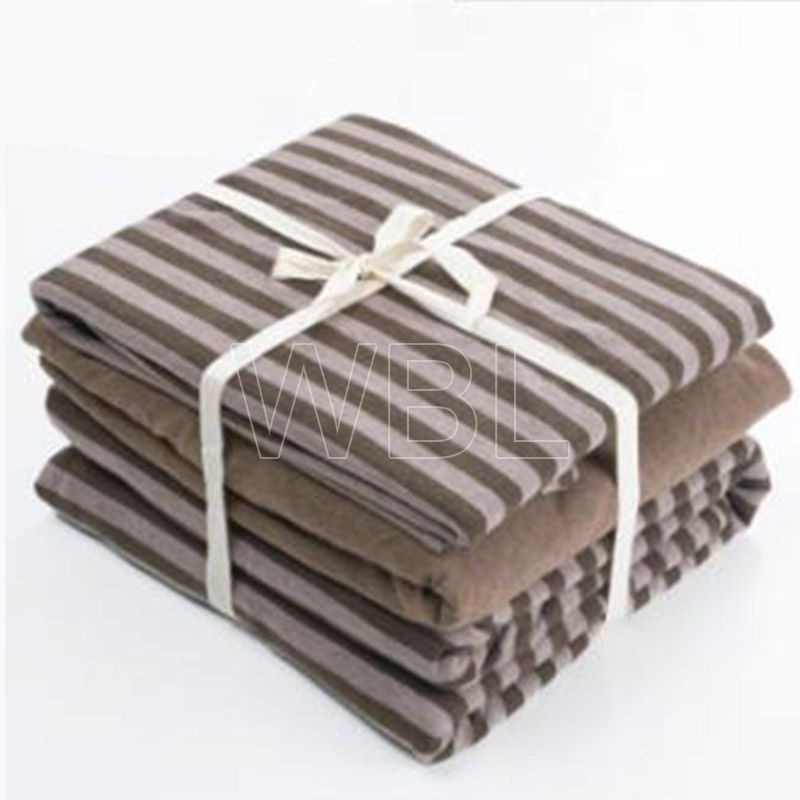 Comfortable Cotton and T/C Bedding Sheet Fabric Manufacture
