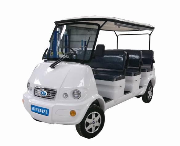 8 Sets Electric Sightseeing Car With White Color