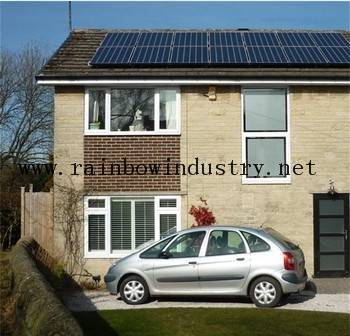 Grid off Home solar power system 8kw