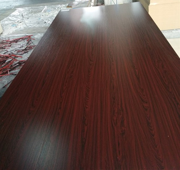 e2 glue standard size melamine faced mdf board