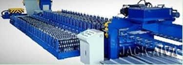 Cassette changeover roll forming machine