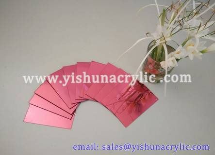 flexible super thin acrylic mirror sheet