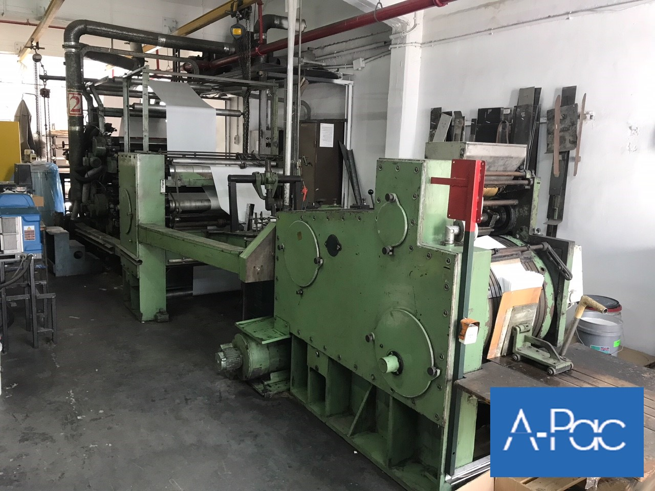 used Flat/Satchel Bag Making Machine with window unit