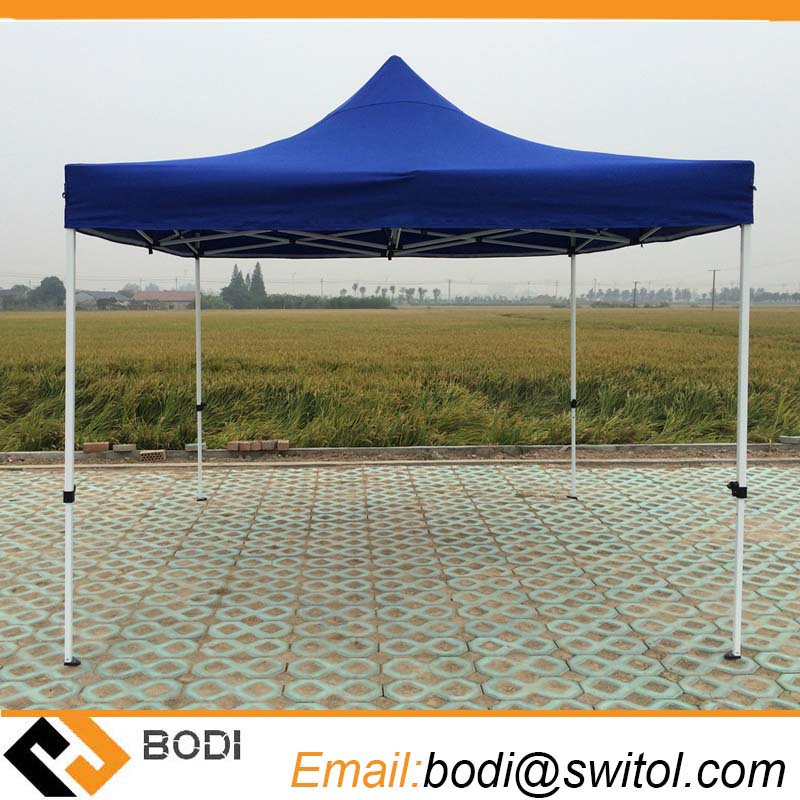 10X10 Blue Customized Cheap Pop up Gazebo Tent with Wall for Trade Show Event Exhibition Wedding