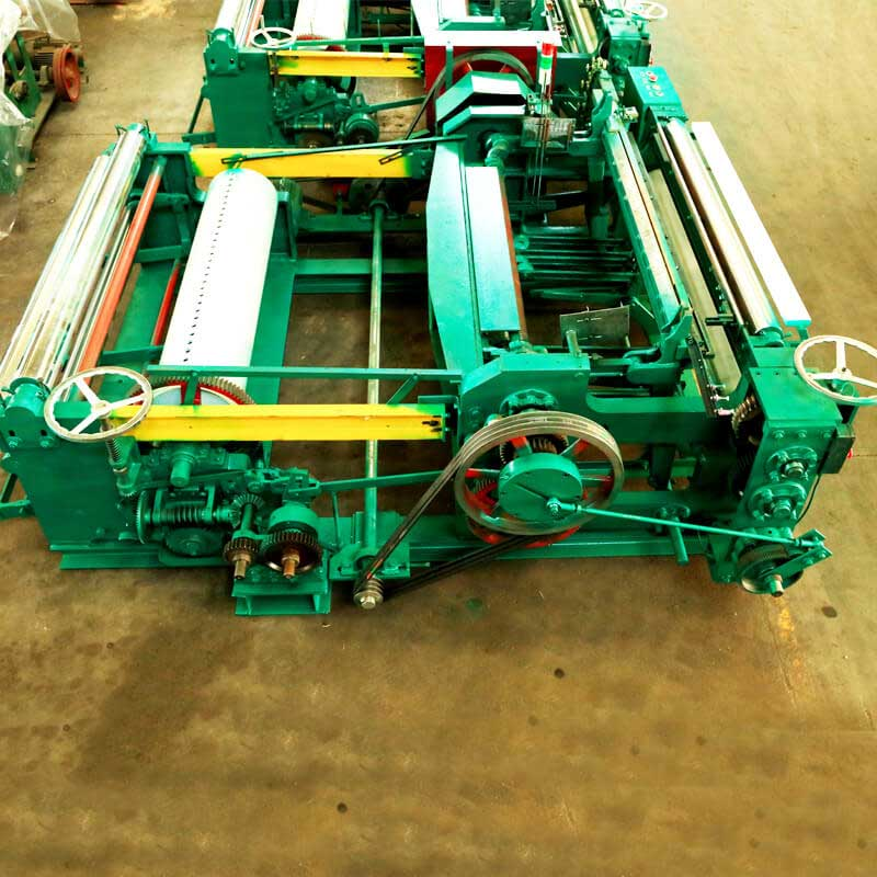 The Medium-duty metal wire net weaving machine ZWJ-1300D