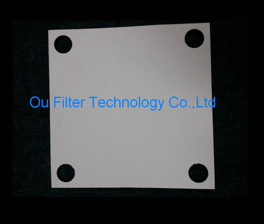 Depth filter sheets and filter pads