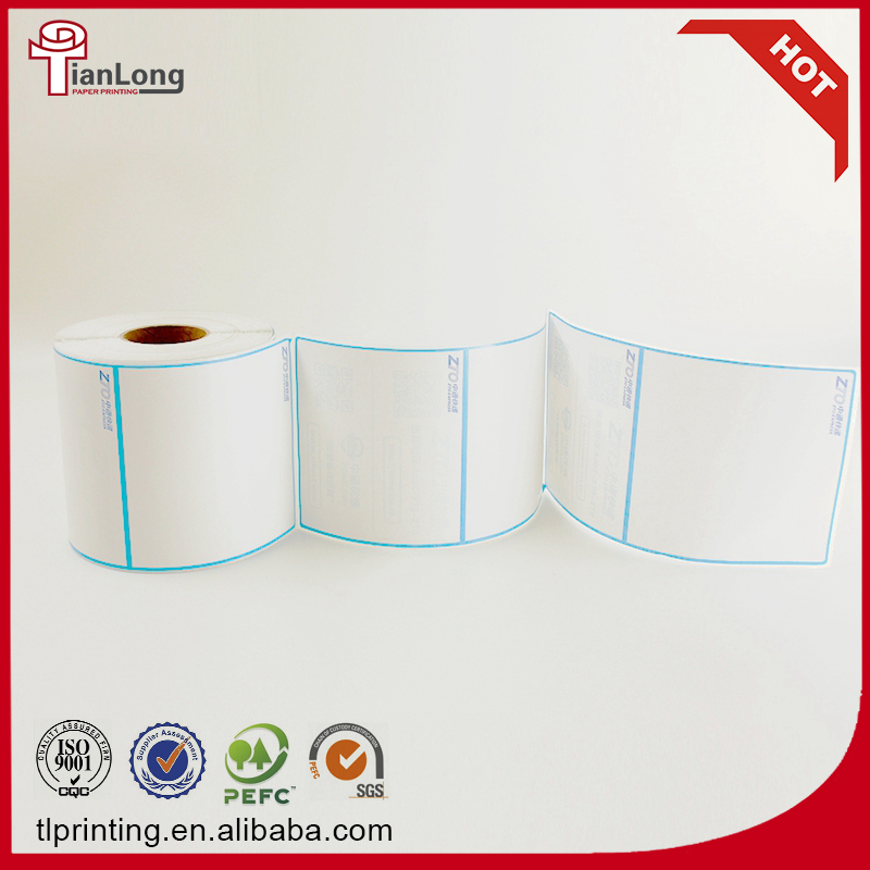 cheap thermal paper labels adhesive stickers