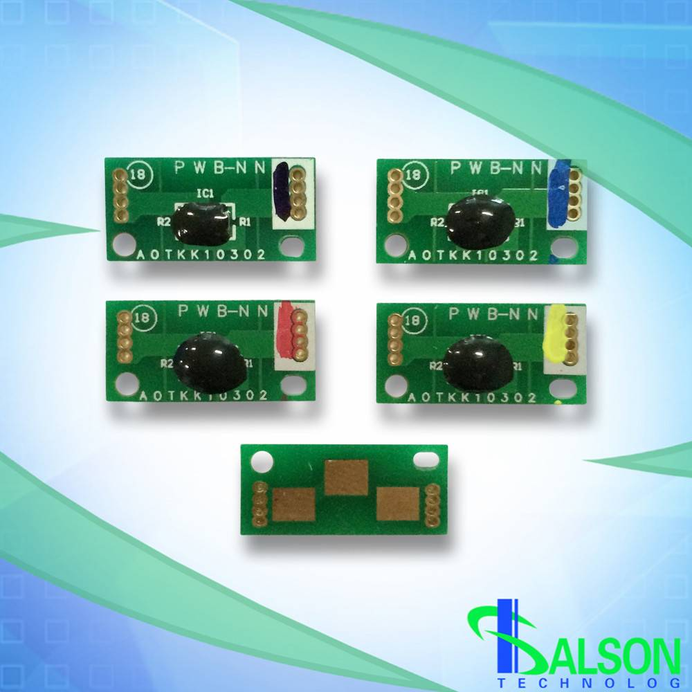 Toner chip for Minolta bizhub C654 C754 compatible cartridge chips