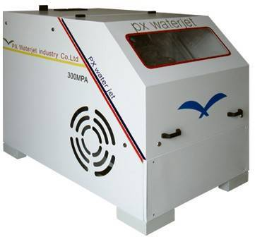water jet cutting mahcinery