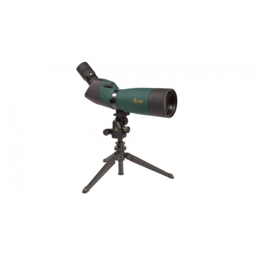 Alpen 20-60x80mm Angled Waterproof Spotting Scope - 45 degree Eyepiece 788 w/ Free S&H