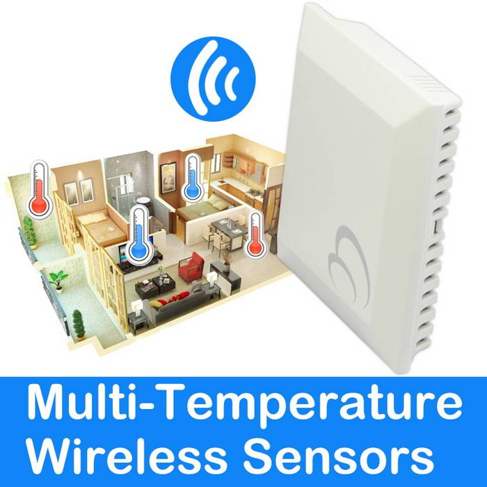 Multi-Temperature Wireless Sensors