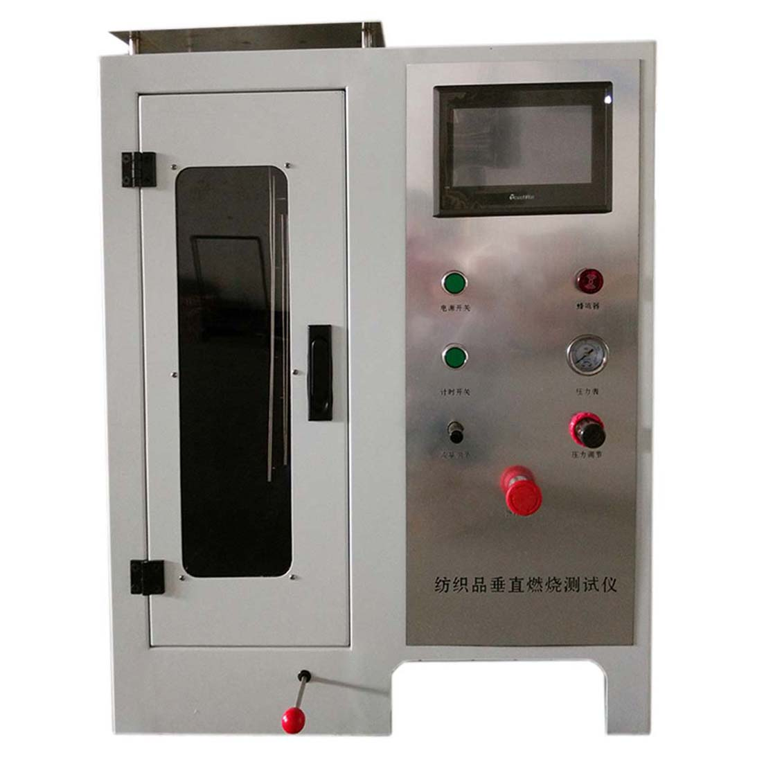ISO 6941: 2003 Fabrics Vertical Burning testing instrument
