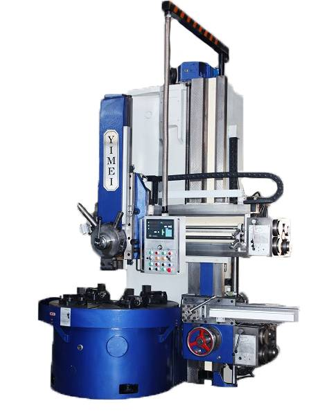 Conventional single column vertical lathe