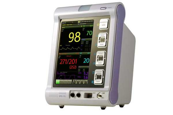 Medical Emergency Equipment, Vital Sign Monitor w/touchable SENTRY Plus