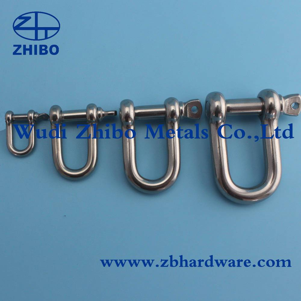 Sea Sense Stainless Steel Straight D Anchor Shackle