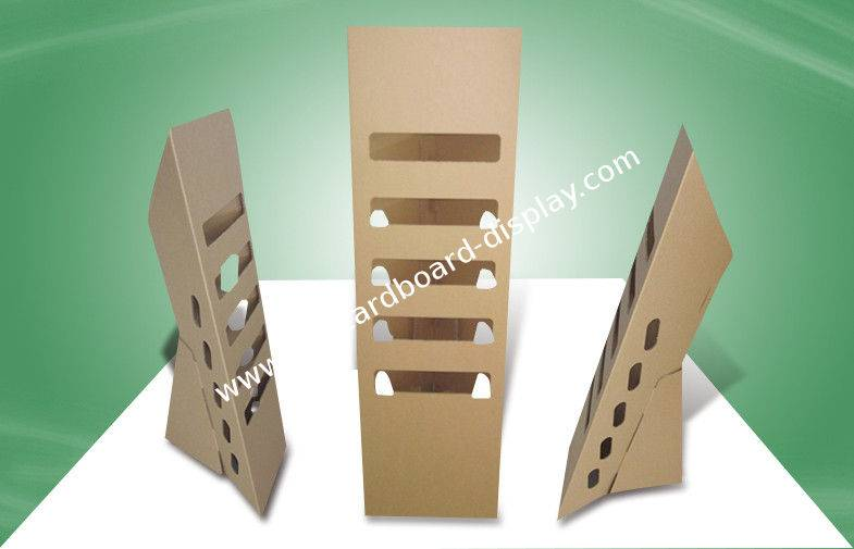 cardboard display stand for supermarket and retail store