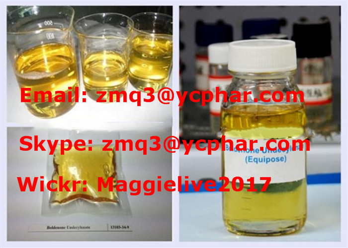 99.5% Bodybuilding Fitness Injection EQ/Equipoise Boldenone Undecylenate 300mg