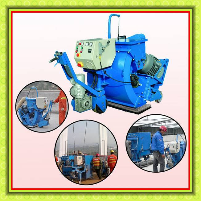 Movable Cement Concrete Floor Shot Blasting Machine