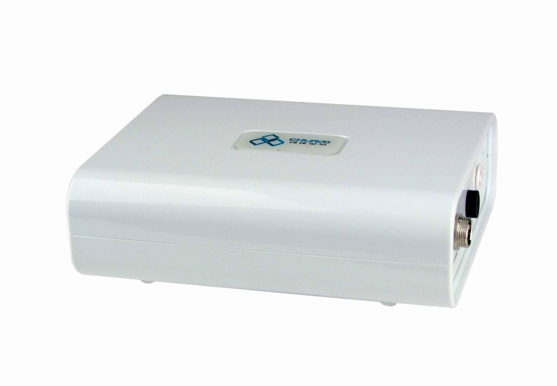 Mini ozone and anion/ion generator air purifier in home appliance