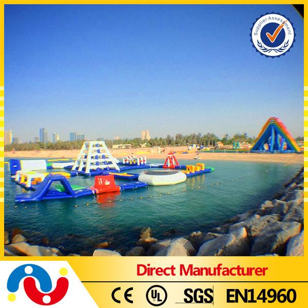 Good Fun Giant Inflatable Water Park With EN15649 Certificate
