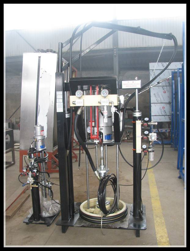Two Component Silicone Extruder Machine