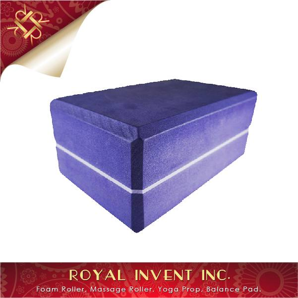High Density Soft & Comfortable Eva Yoga Block Made In Taiwan