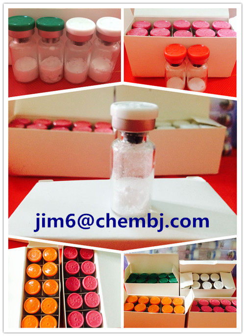 high quality steroid hormone powder Ghrp-6 for muscle synthesis  Skype:jim17661
