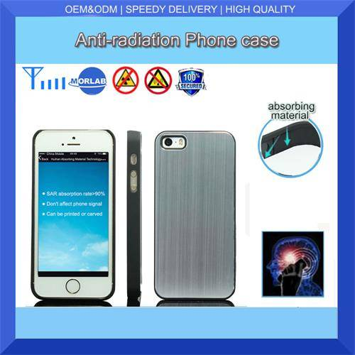 high quality anti-radiation custom printing waterproof aluminium cell phone case