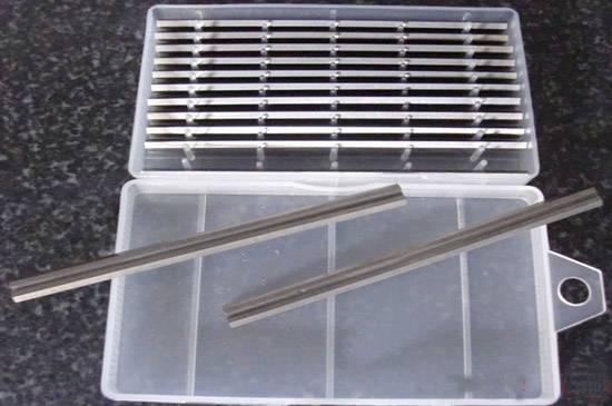 HSS planer knife for woodworking