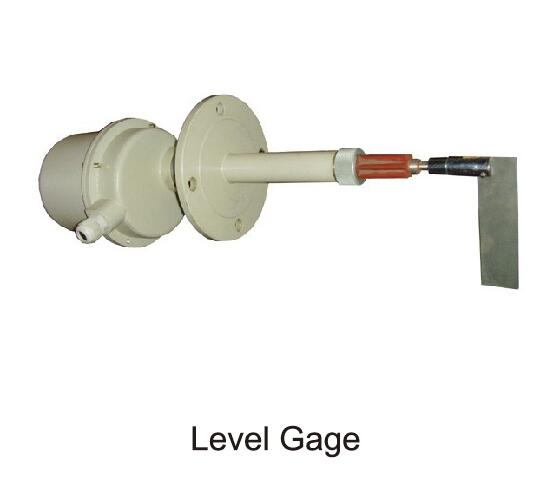 level gage of mixing plant