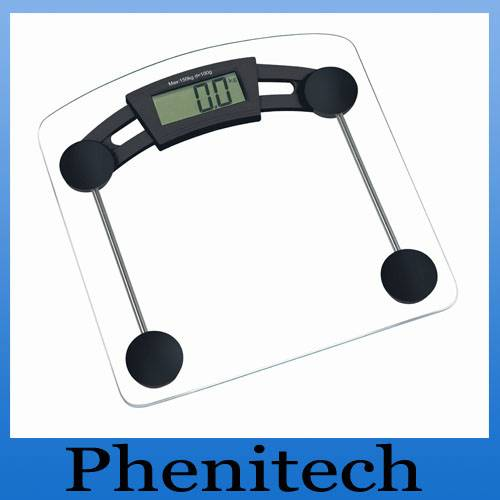Digital Bathroom Scale with Capacity 2-150kg