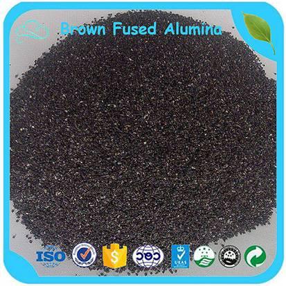 First Grade Sand Blasting Abrasive Brown Aluminium Oxide 36 Mesh