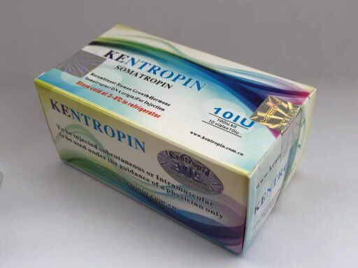 High purity HGH Jintropin Hygetropin Kigtropin Riptropin original Kentropin (100iu)