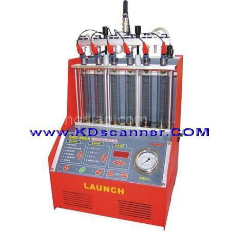 launch CNC-602A injector cleaner & tester  can bus x431