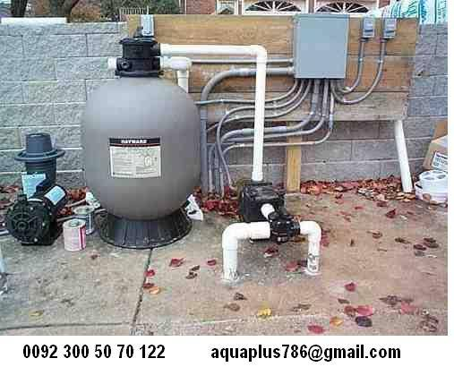 Swimming Pool Filtration Plant 03355070122