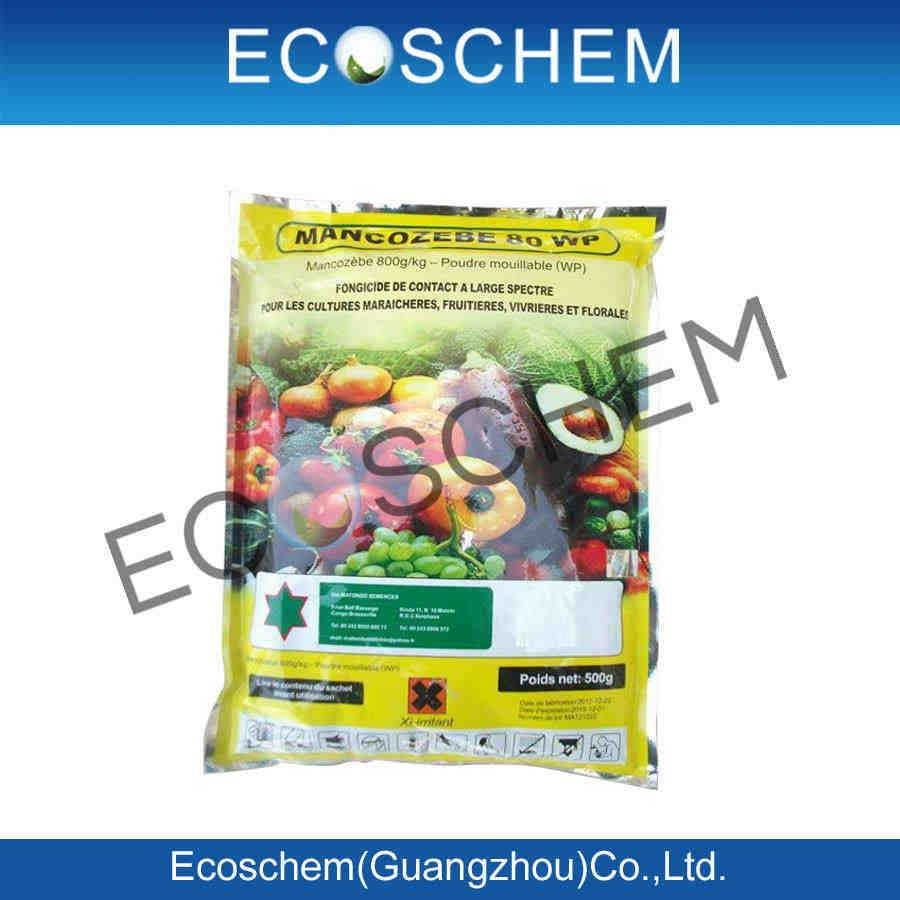 Pesticide Manufacturer Ecoschem supply agrochemical fungicide Mancozeb 80% WP