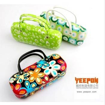 colorful metal iron eyeglasses cases boxes